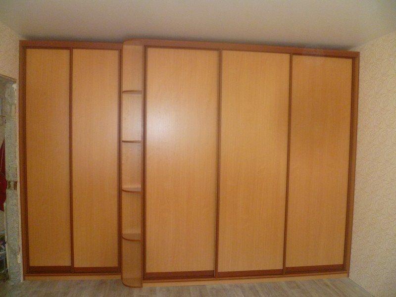 Фото шкафов встроенных в нишу на заказ - компания нтк.